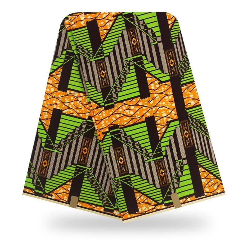 Tissu imprimé en cire africaine ankara   Cire africaine 100% coton, offre spéciale tissu africain Ankara 2019, cire de haute qualité