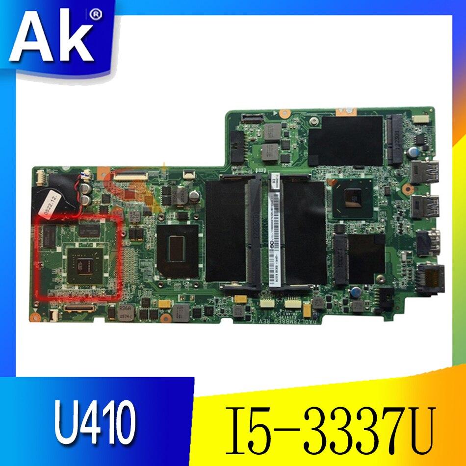 لينوفو ايديا باد U410 اللوحة الأم للكمبيوتر المحمول I5-3337U.FRU 90002850 90002377