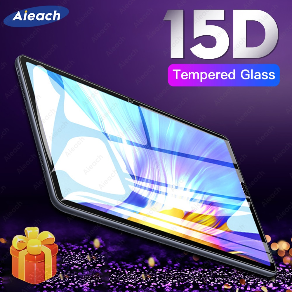 15D Protective Glass For Huawei MediaPad M5 Lite M3 10 8.0 T5 Screen Protector For Huawei MediaPad M
