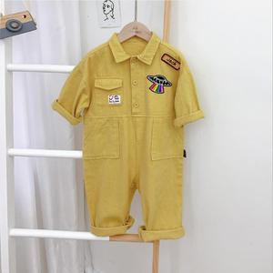 New Baby One-pieces Casual Boy's Clothing Fashion Baby Spring Jumpsuit 2021 Children's Overalls Kids Clothing Sets