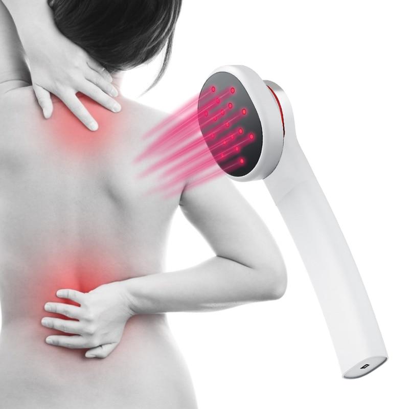 808nnm يده التئام الجروح الباردة العلاج بالليزر جهاز لتخفيف الآلام البروستاتا تدليك معدات ماكينة ليزر لتخفيف ألم المفاصل جهاز لتخفيف الآلام