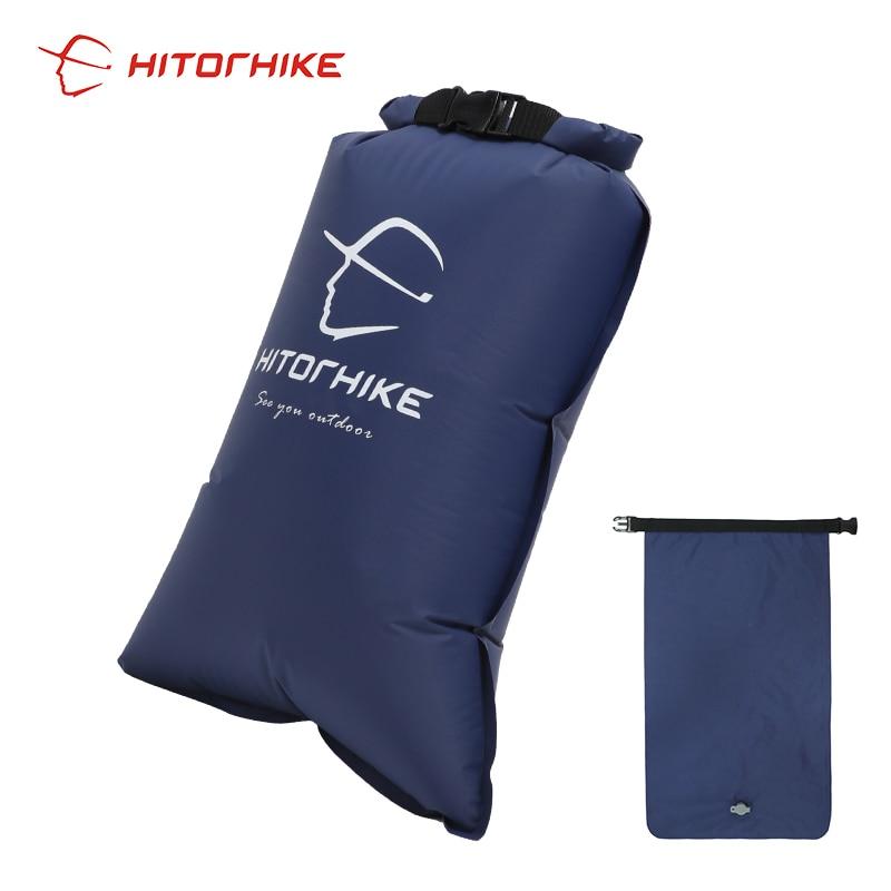 Hitorhike Topselling almohadilla de dormir inflable estera de Camping con almohada colchón de aire colchón de dormir sofá inflable tres estaciones