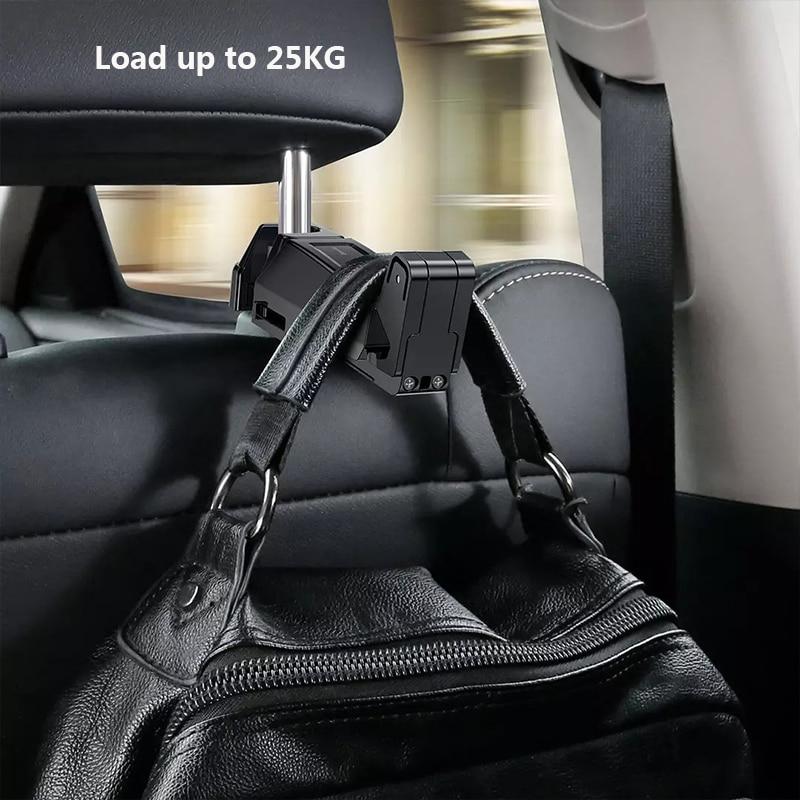 Youpin Flexible Car Rear Pillow Phone Holder Rear Seat Car Bracket Hook Anti-shake Stand Back Seat Mount Bracket 4.7-6.5 Inch enlarge