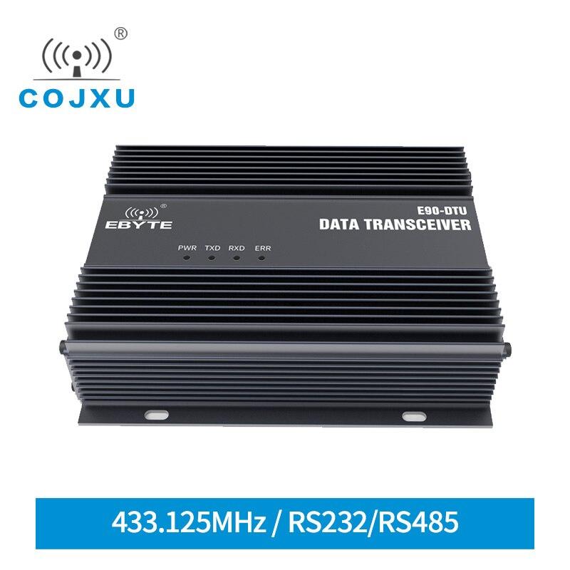 SX1262 SX1268 LoRa Modem Module RS232 RS485 25W Wireless Transceiver 433MHz Long Range 40KM Relay Network COJXU E90-DTU(400SL44) lora wireless module rs232 rs485 433mhz tcxo cojxu e90 dtu 433l30 wireless transceiver long range 8km plc receiver radio modem