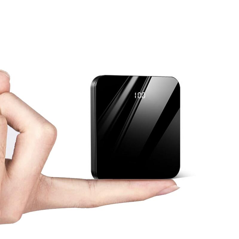 20000mAh Mini Power Bank Portable External Battery Pack Bank LED Display Poverbank Charging for Xiaomi Mi 9 Mi9 IPhone X XS Max