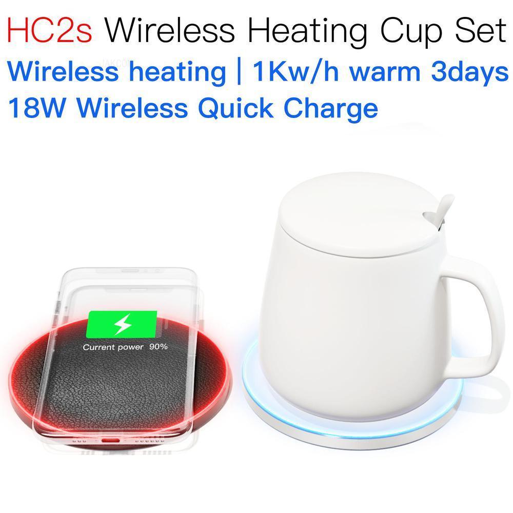 jakcom hc2s conjunto copo de aquecimento sem fio nova chegada como carregador sem