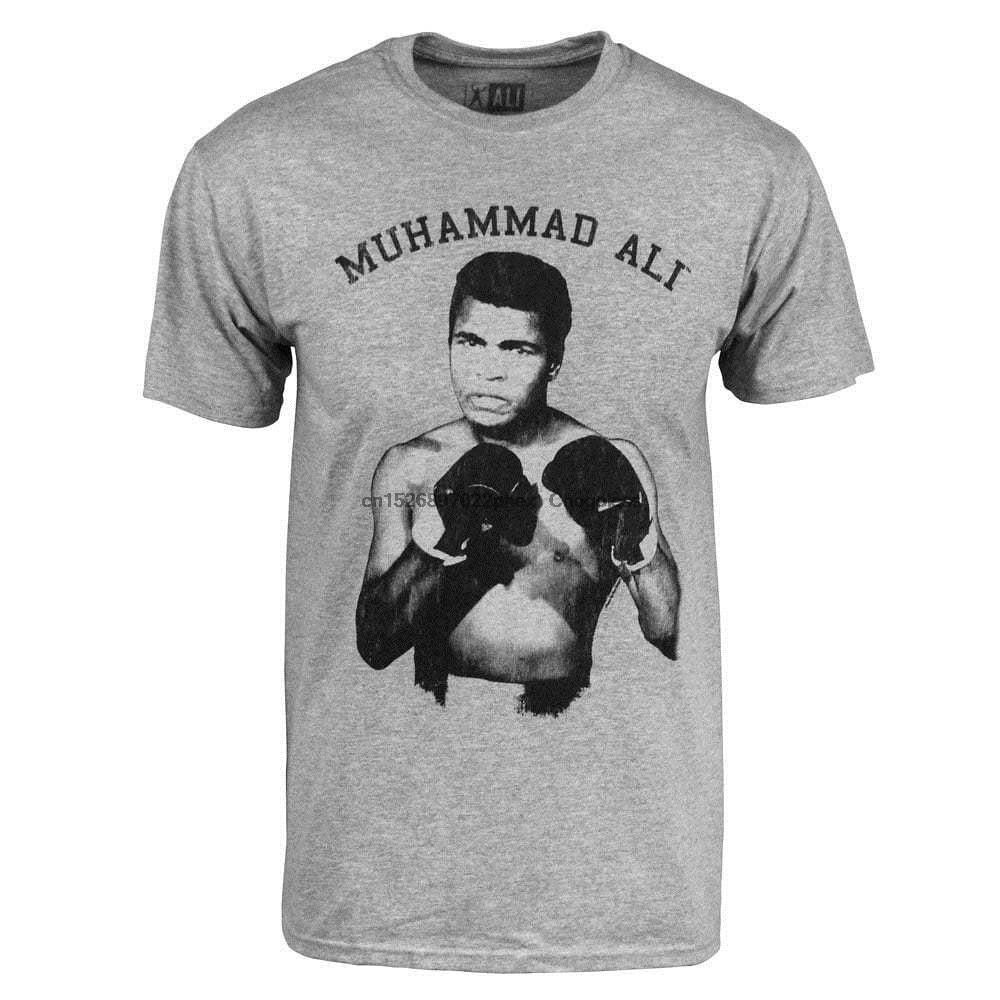Mens Retro Muhammad Ali Nough Sagte Boxen Heavyweight Champion T Hemd Meliert (1)