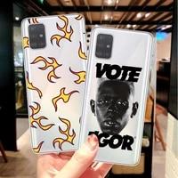 hip hop rapper tyler creator soft silicon phone case for samsung galaxyr s6 s7 edge s8 s9 plus s10 plus s20 plus s20 ultra cover
