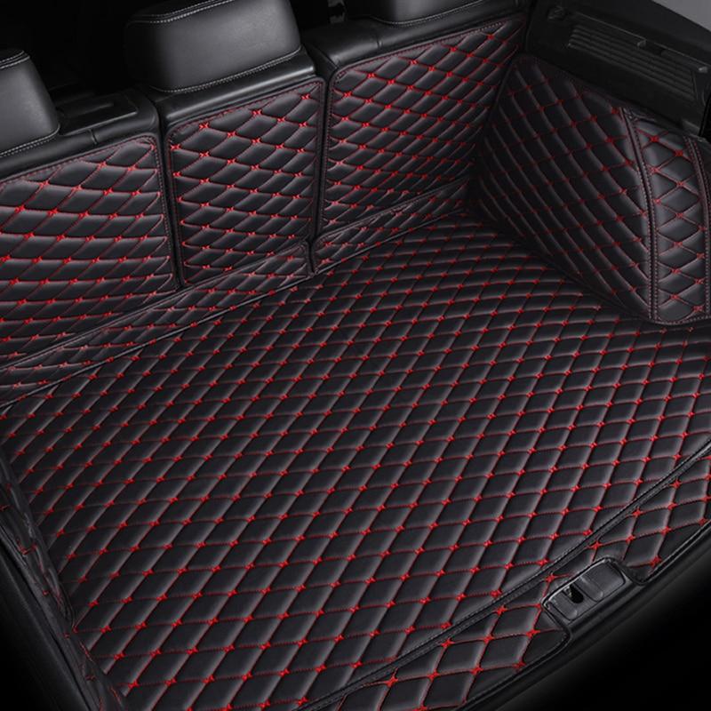 Esteiras tronco do carro personalizado para porsche cayenne macan todos os modelos de acessórios do carro esteiras