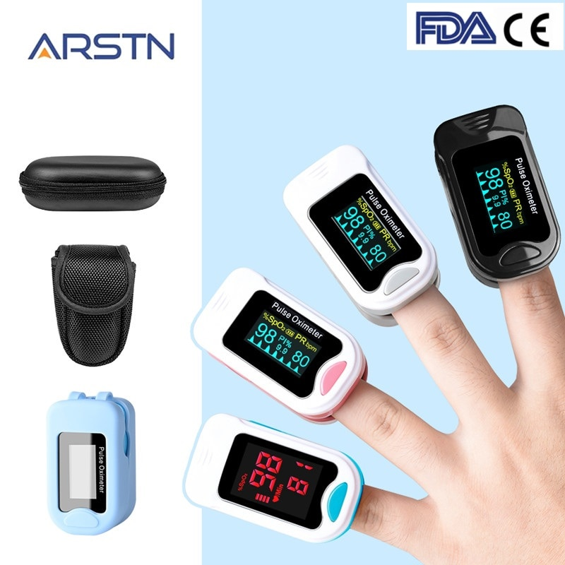 Finger Pulse Oximeter De Dedo Pulso Oximetro пульсоксим Oxymeter Pulsioximetro Medical Blood Oxygen Meter Heart Rate LED OLED