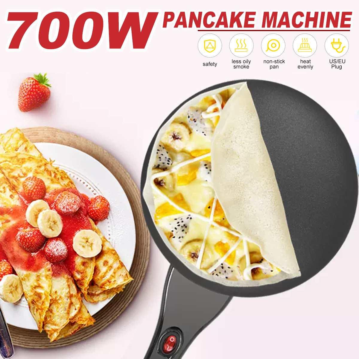 صانع كريب كهربائي بيتزا عموم ماكينة صنع الكعك غير عصا صينية مقلاة خبز ماكينة صنع الكعك أدوات المطبخ الطبخ Sonifer
