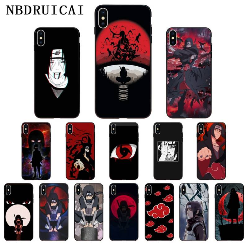 NBDRUICAI Anime Naruto Itachi High Quality Phone Case for iPhone 11 pro XS MAX 8 7 6 6S Plus X 5 5S SE XR case