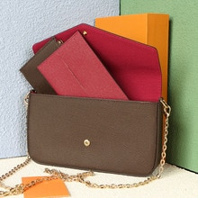 High Quality Shoulder Bag Metal Chain Women's Fashion Slant Bag With Card Bag Zipper Small Bag Brand
