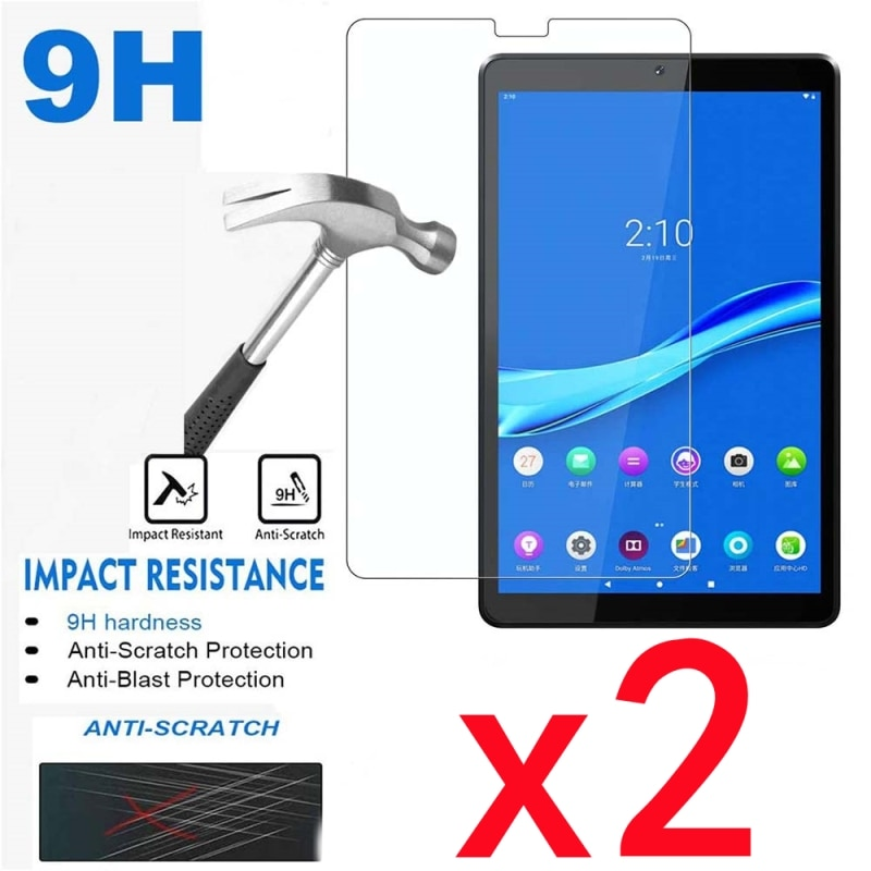 2 шт Защитная пленка для экранов планшетов из закаленного стекла чехол для планшета Lenovo Tab M7 TB-7305F/TB-7305X 7 дюймов не царапающаяся защитная плен...