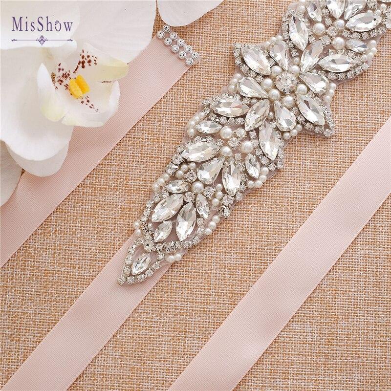 New Handmade  Crystal Wedding Belts Samples Rhinestone Belt Bridal Accessories Girdle 2020