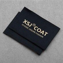 Оригинальная ткань швейная одежда этикетки для логотип бренда одежды тканые этикетки с персонализированным именем бирки для одежды для платья