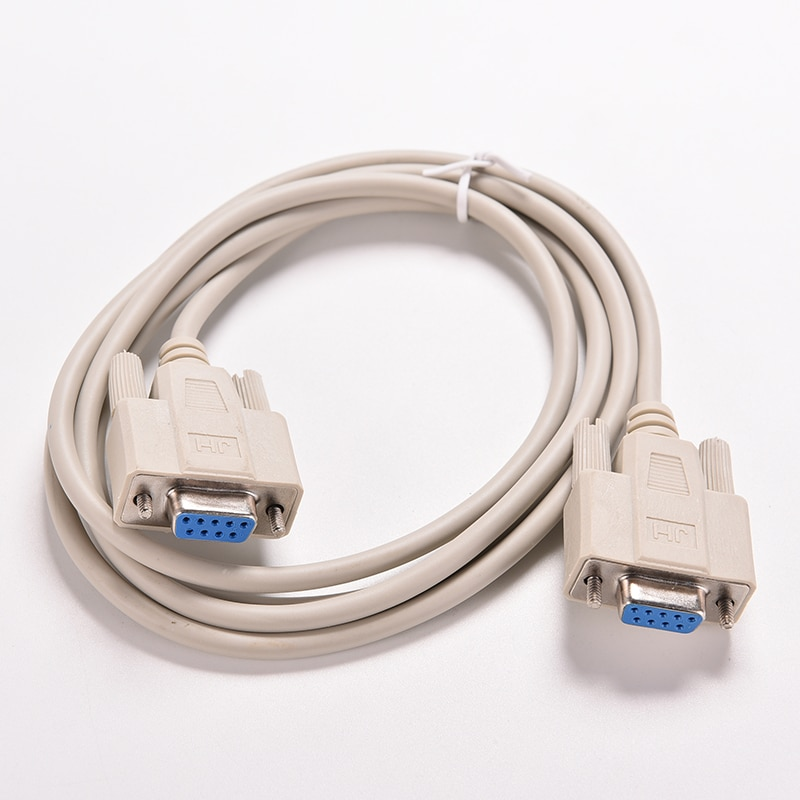 usb to rs232 female serial data cable 9 pin rs232 usb cable for electronic display electronic scale extension rs232 cable 1PC 1.5M Serial RS232 Female to Female Null Modem Cable DB9 FTA Cross Connection 9 Pin COM Data Cable Converter Extension Cord