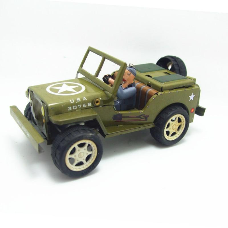 1 piezas Cadena de coche en Jeep viento juguete juguetes para los niños