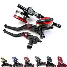 Moto 22mm levier câble embrayage perche maître cylindre frein pour MSX125 KX250F Freno CR125 Honda Yamaha R6 2016 SV650 Repsol ZX14