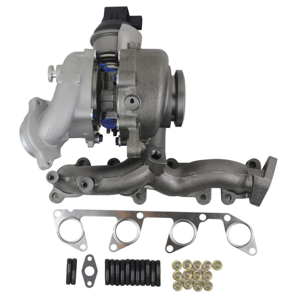 Turbocompresor AP01 con actuador para VW Golf Jetta Beetle TDI 2.0L 103KW 140HP 03L253016FX 03L253056AX 53039880206