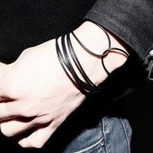10 pièces Bracelet de mode noir pur adultes enfants gelée Bracelets en Silicone lumineux Fluorescent beaux bijoux en Silicone