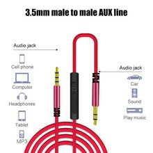 1.2m 3.5mm Audio Cable Male To 3.5mm Speaker Male Jack Cord Stereo Audio Aux Cable c Auxiliary Audio