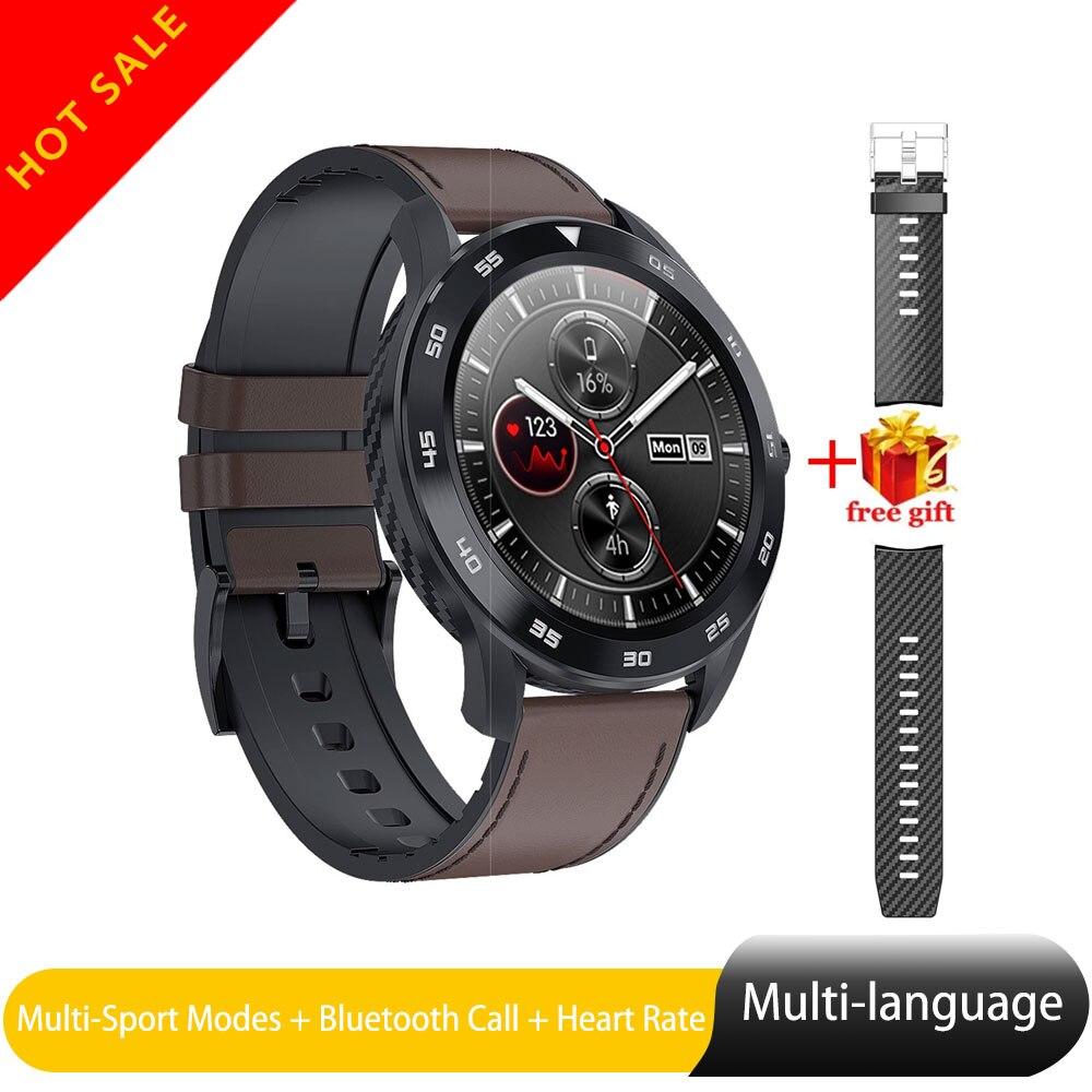 Relógio Inteligente Chamada Bluetooth Freqüência Cardíaca ECG DT98 IP68 Homem Esporte Rastreador Ios Smartwatch À Prova D Água para Samsung Xiaomi Huawei Iphone
