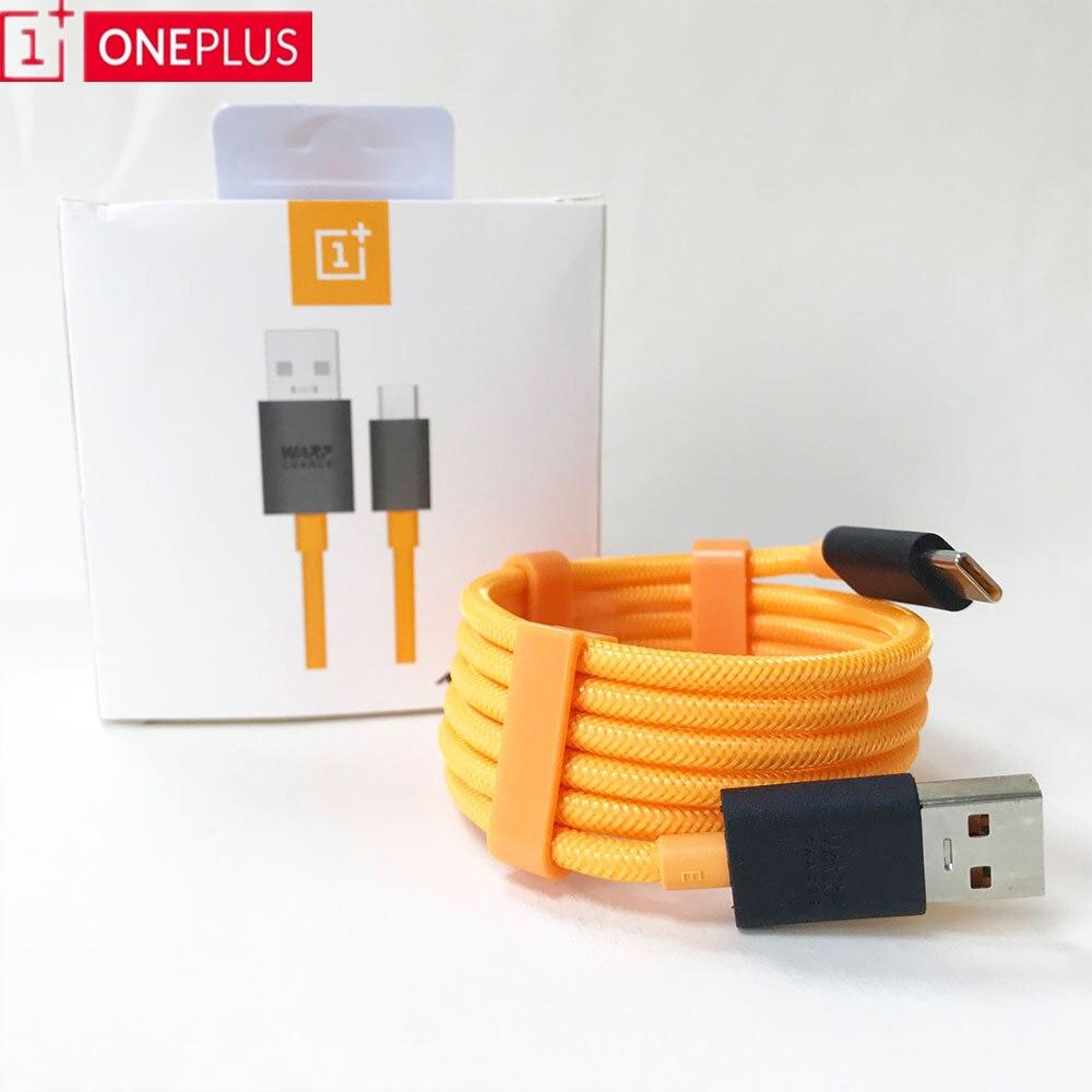 Original Oneplus Mclaren câble USB Type C chaîne tableau de bord Charge rapide Charge USB-C câble pour Oneplus 8 7T 7 Pro 8 7 6T 6 5T 5 3T 3