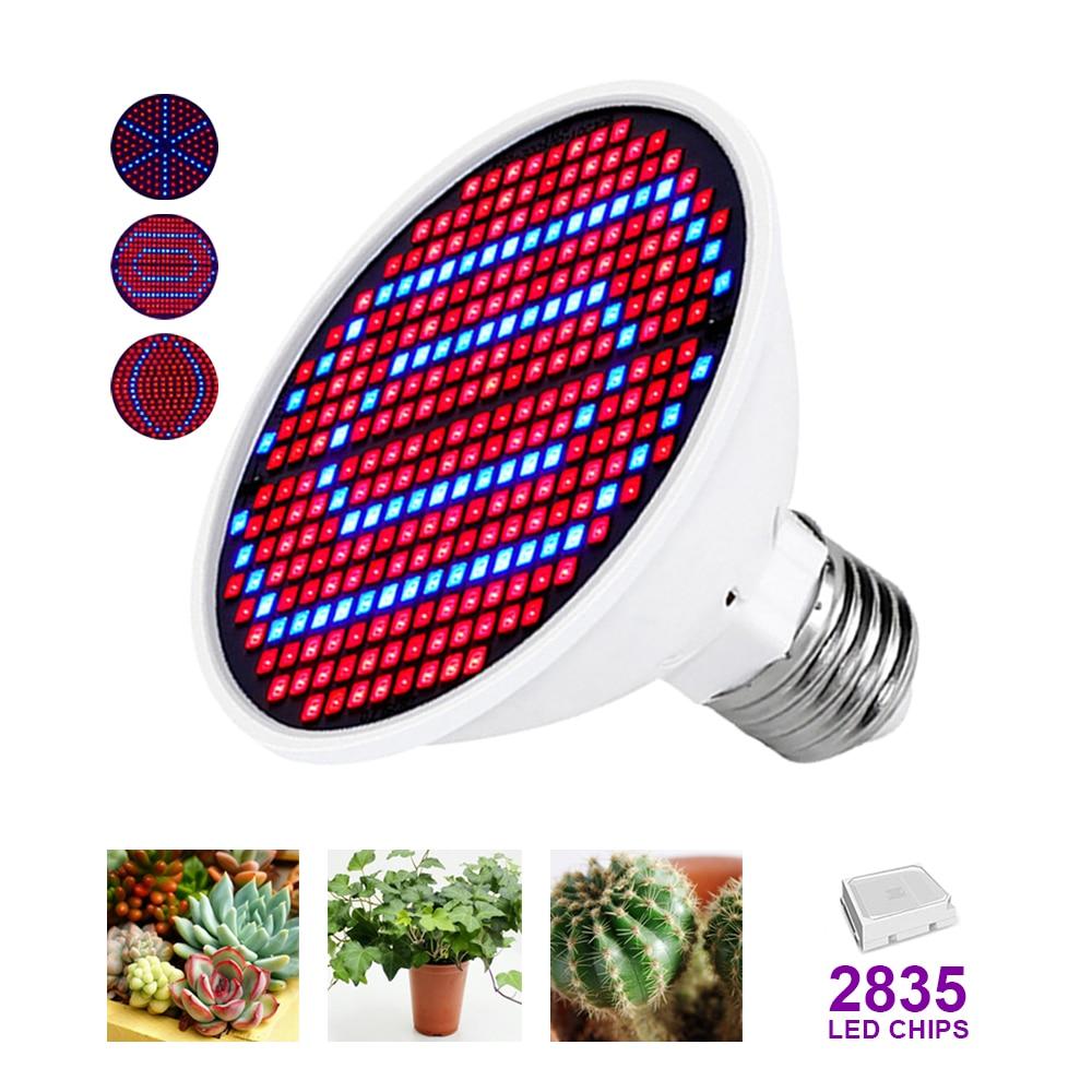 E27Full Spectrum Led Grow Light Phytolamp for Plant Lamp Grow Tent Lights Lamp Grow Lamp Indoor Lighting Hydroponic Growth Light