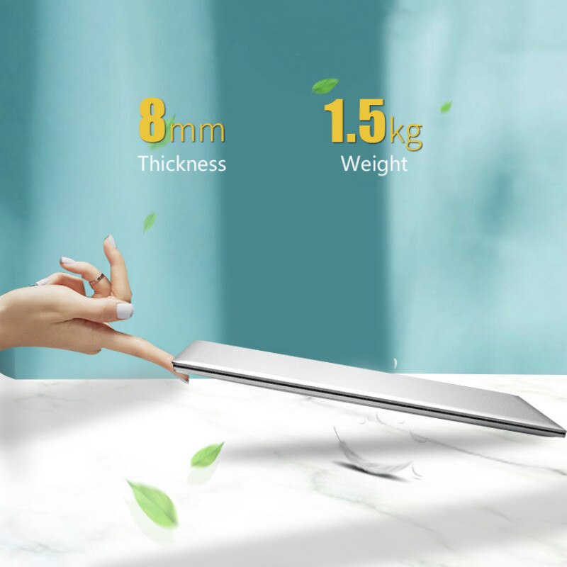 12GB RAM Cheap Laptop Intel J4125 Windows 10 Pro Quad Core Netbook Slim Office 15.6 Inch Notebook 1080P PC Computer Bluetooth