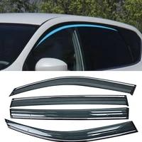 for nissan tiida c12 pulsar 2012 2019 car window sun rain shade visor shield shelter protector cover trim frame exterior sticker
