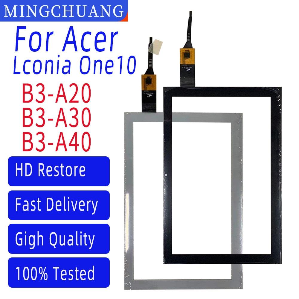 10.1 بوصة لشركة أيسر Iconia واحد 10 B3-A40 B3-A40HD شاشة اللمس الجبهة زجاج محول الأرقام الاستشعار استبدال B3-A20