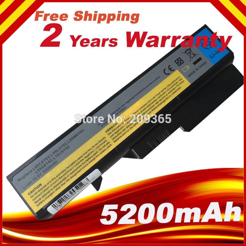 6 cells Battery for Lenovo IdeaPad B470 Z370 G460 b570 b570e G560 V370 V470 Z460 Z560 Z465 L10P6Y22 Z570 LO9S6Y02 free shipping