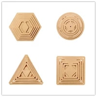 sewing patchwork tool model geometry embroidery pattern crimping template drawing tracing board sewing mould set