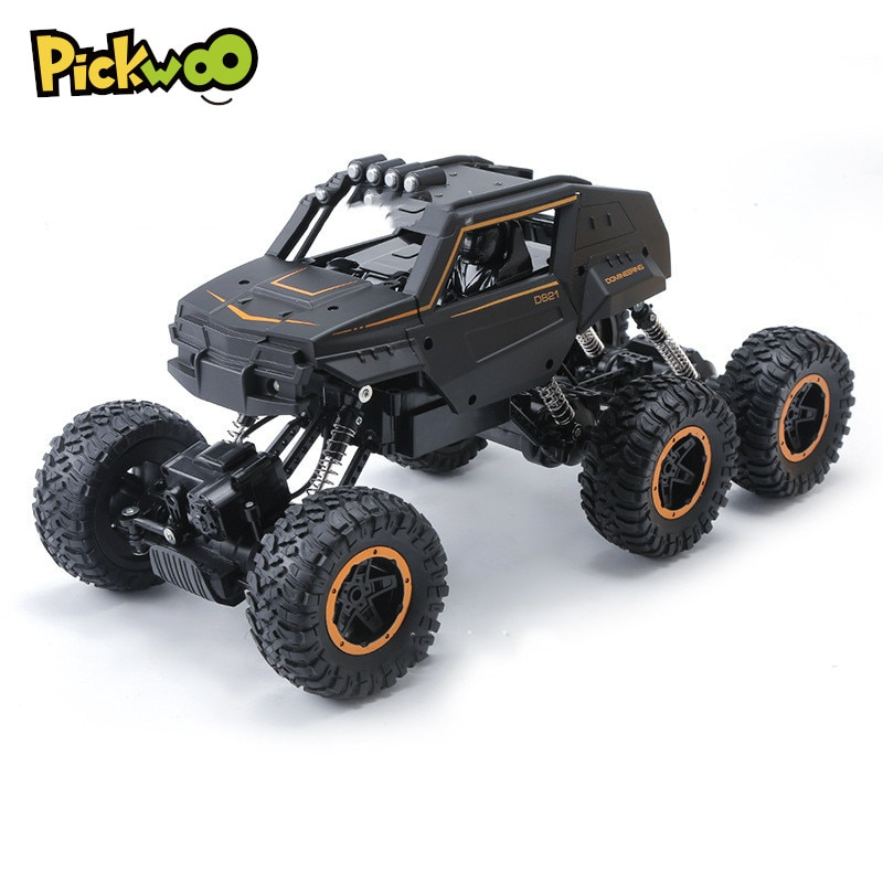 Pickwoo C12 Big Size 20 to 39CM 1:12 RC Car 6WD 2.4G 15km/h Remote Control Crawler with Light Off Ro