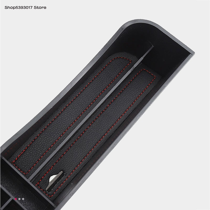 Siège de voiture Gap Plug boîte de rangement intérieur multifonctionnel eau support de verre sac de rangement pour Toyota Camry 2018 2019 2020 2021