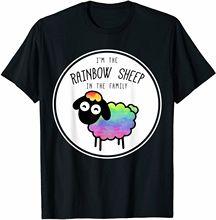 Im The Rainbow Sheep In The Family Lgbtq Lesbian Gay Pride T Shirt Birthday
