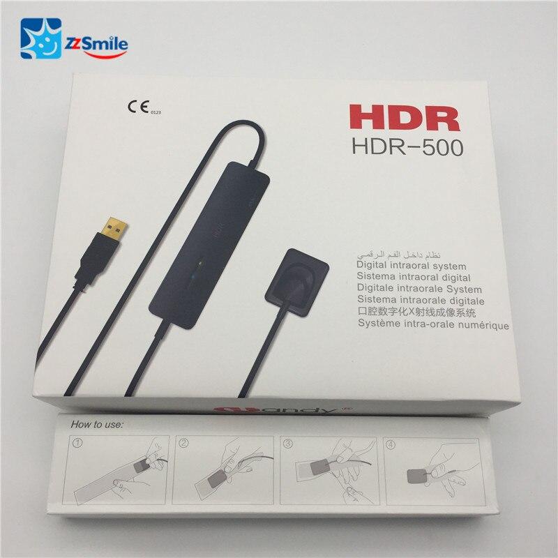 CE Genehmigt Dental Intraorale Sensor Größe 1/HANDLICHE HDR500 Dental XRay Sensor mit TWAIN Fahrer