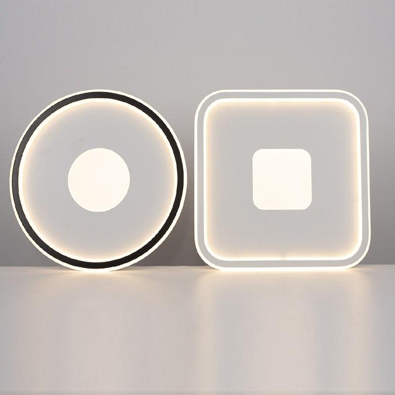 مصباح سقف بإضاءة LED مربع مستدير 50 وات 42 وات 36 وات 24 وات قابل للتعتيم عن بعد محايد قابل للتعديل لغرفة النوم وغرفة المعيشة مصباح سقف عصري