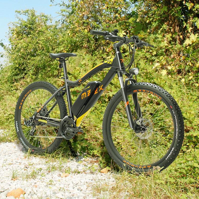 27,5 zoll elektrische mountian fahrrad 400w hinten rad motor 48v lithium-batterie eMTB Elektro off-road berg bike