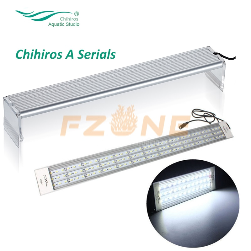 Chihiros serie A, iluminación Led para acuario, tapa para cultivo de plantas, luz para acuario de peces, lámpara LED superior 5730 con regulador de intensidad