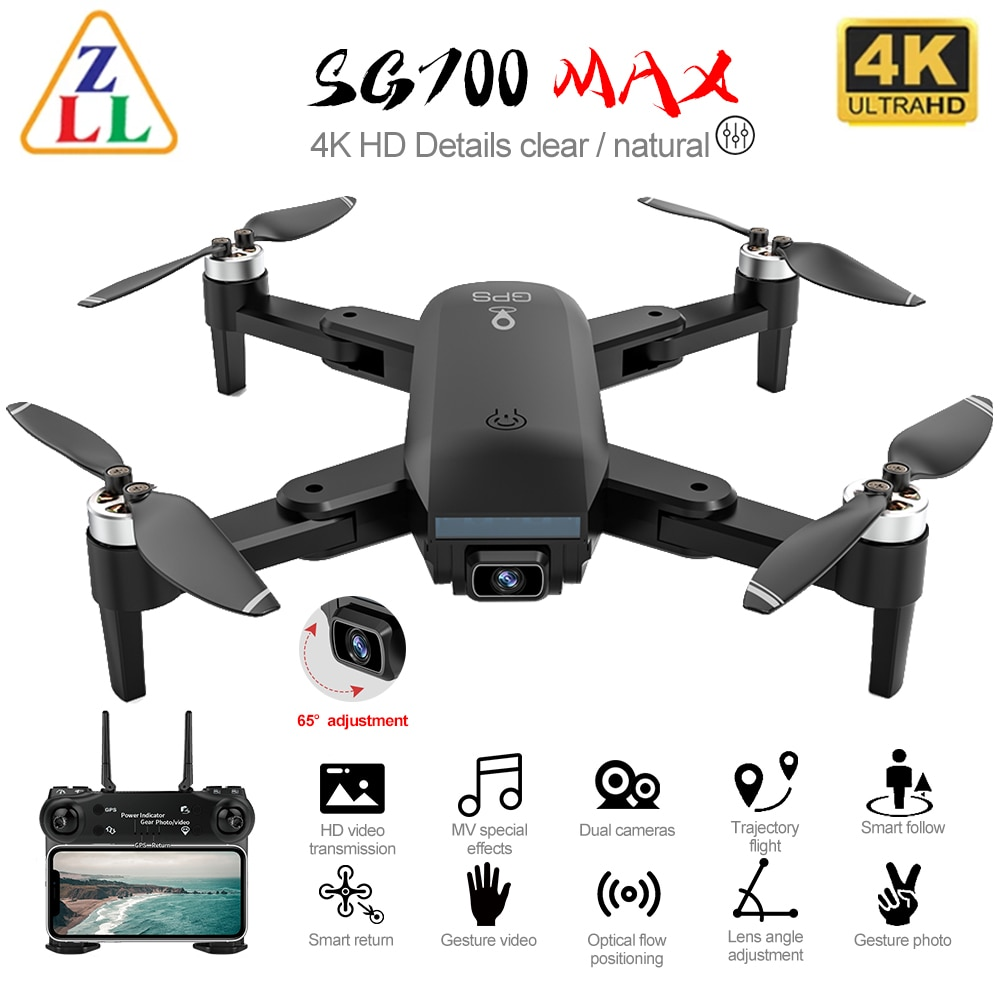 ZLL SG700 PRO MAX Drone 4K HD Camera Wide Angle 5G Drones Professional Brushless 50x Optical Follow