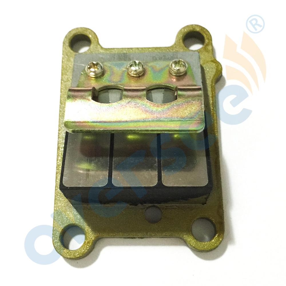 6E0-13610-00 ASSY صمام القصب, لـ Yamaha Parsun Hidea 4HP 5l محرك خارجي ، قطع غيار محرك القارب ما بعد البيع 6E0-13610