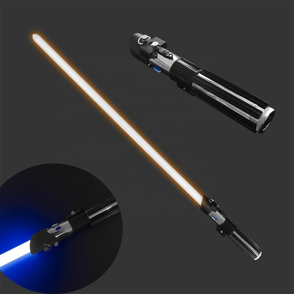 YDD Darthvader-EP5 Pixel Dueling Lightsaber Dark Lord Movie Restoration  RGB Light Saber Metal Hilt Laser Saber