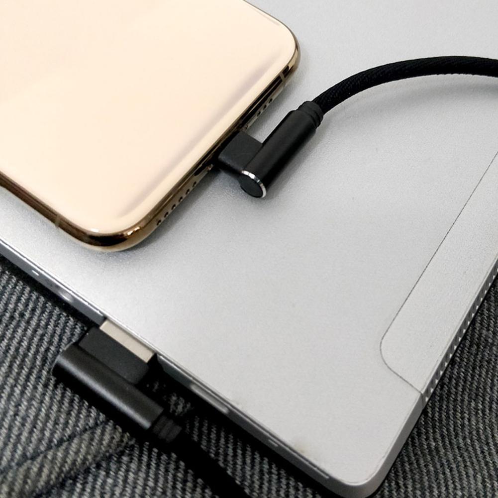 Cable de carga corta USB de 25cm a tipo C, Cable Micro...