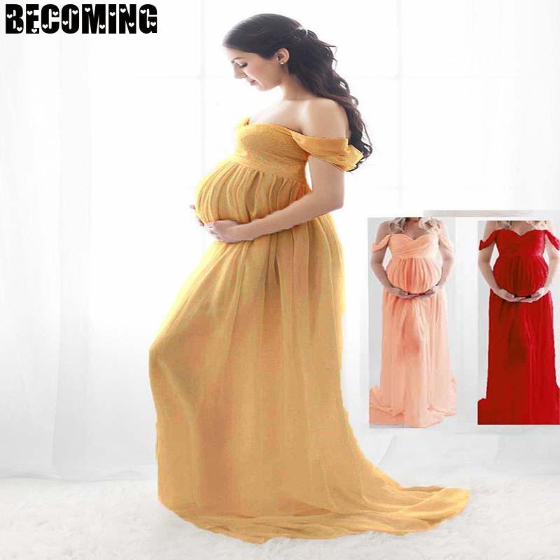 Maternity Dresses For Photo Shoot Big Size Dress Pregnancy Dress Photography Sexy Maternity Dress Shooting Photo White Dress enlarge