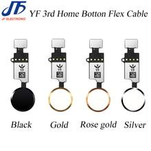 10 unidades YF 3rd HX 3rd Gen Cable flexible de botón de inicio Universal para iPhone 7 7g 8 8G Plus menú teclado de retorno On Off solución de función