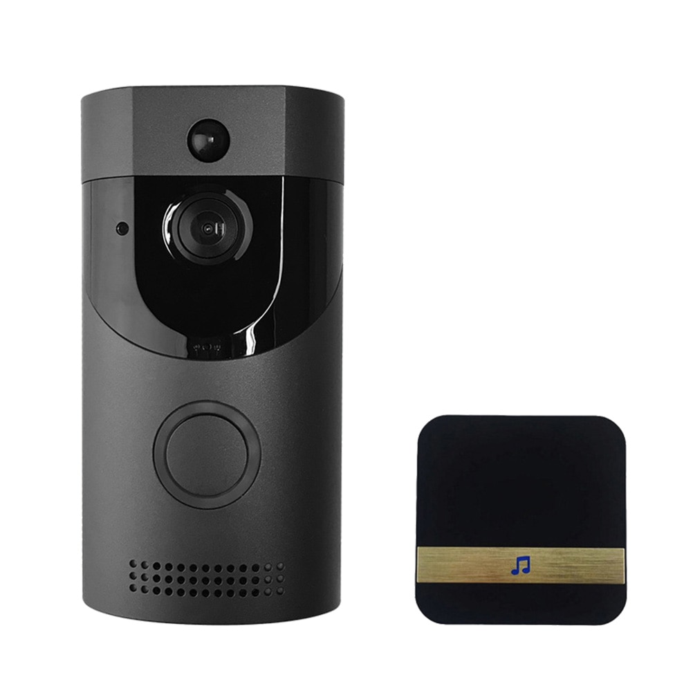 Timbre de puerta inalámbrico con cámara de vídeo, timbre de teléfono con WiFi, intercomunicador PIR, detección de movimiento, visión nocturna por IR, aplicación remota con Control, enchufe witUS