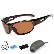New Fishing Polarized Sunglasses Hiking Cycling Goggles Riding Night-vision Driving Glasses Sport Fishing Eyewear with Box