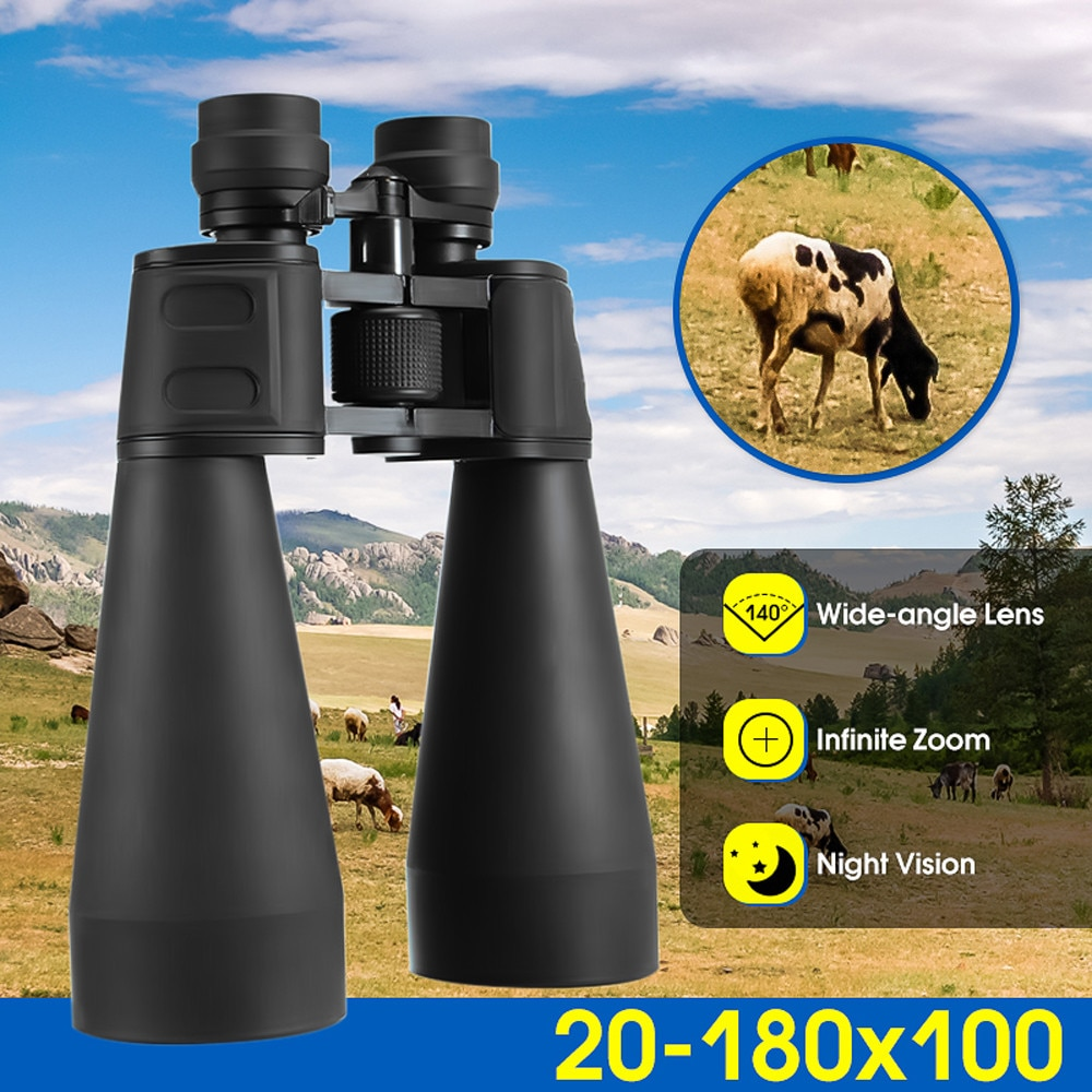 Vogue Style Telescope Luneta Camping Hiking Outdoor Telescope High-power Binocular Handheld Low-light Night Vision Binoculars #f